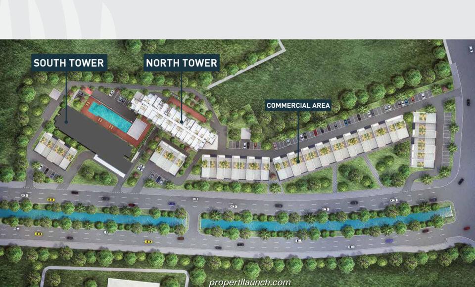 Master Plan Apartemen Cleon Park