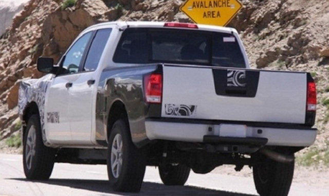 2018 Nissan Frontier Specs, Redesign, Release Date (Spy Photo)