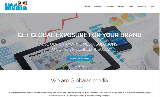 GlobalAdMedia.com Review, cpm ad network