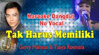 karaoke tak harus memiliki no vocal