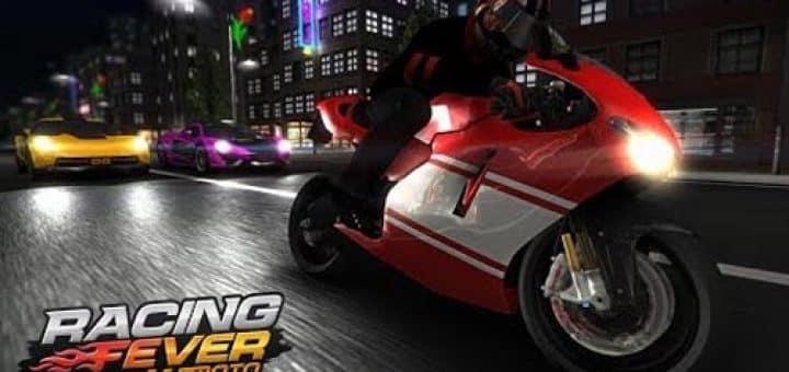 تحميل لعبه Racing Fever: Moto  Apk + Mod Money مهكره اخر اصدار