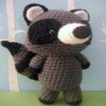 patron gratis mapache amigurumi | free amigurumi pattern raccoon