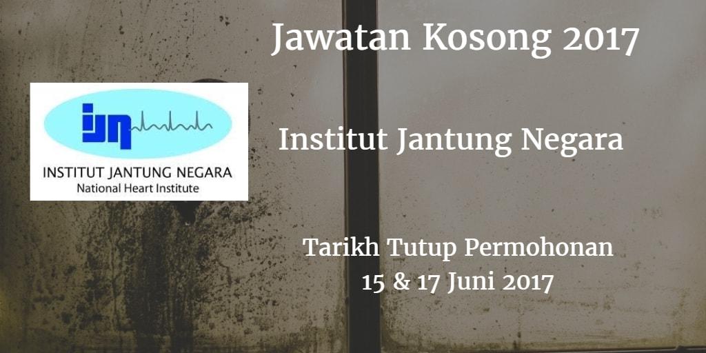 Jawatan Kosong IJN 15 & 17 Juni 2017