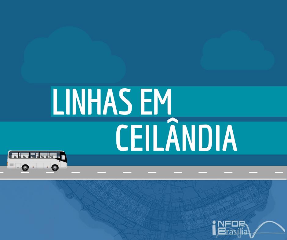 Horário de ônibus das linhas de Ceilândia