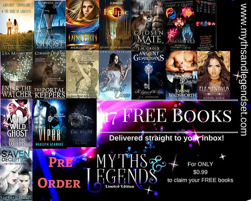 Blitz #2: Myths and Legends by Various Authors featuring Madisyn Ashmore, Michelle Madow, Amber Lynn Natusch, and Chrissy Peebles