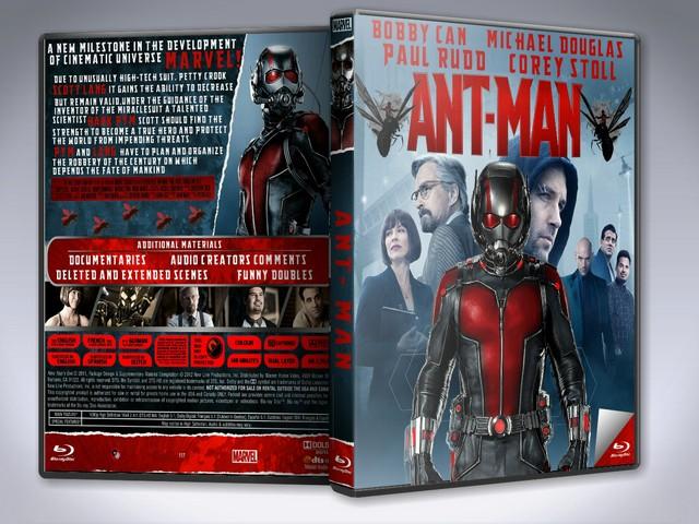 Capa Bluray Ant Man (Homem Formiga)