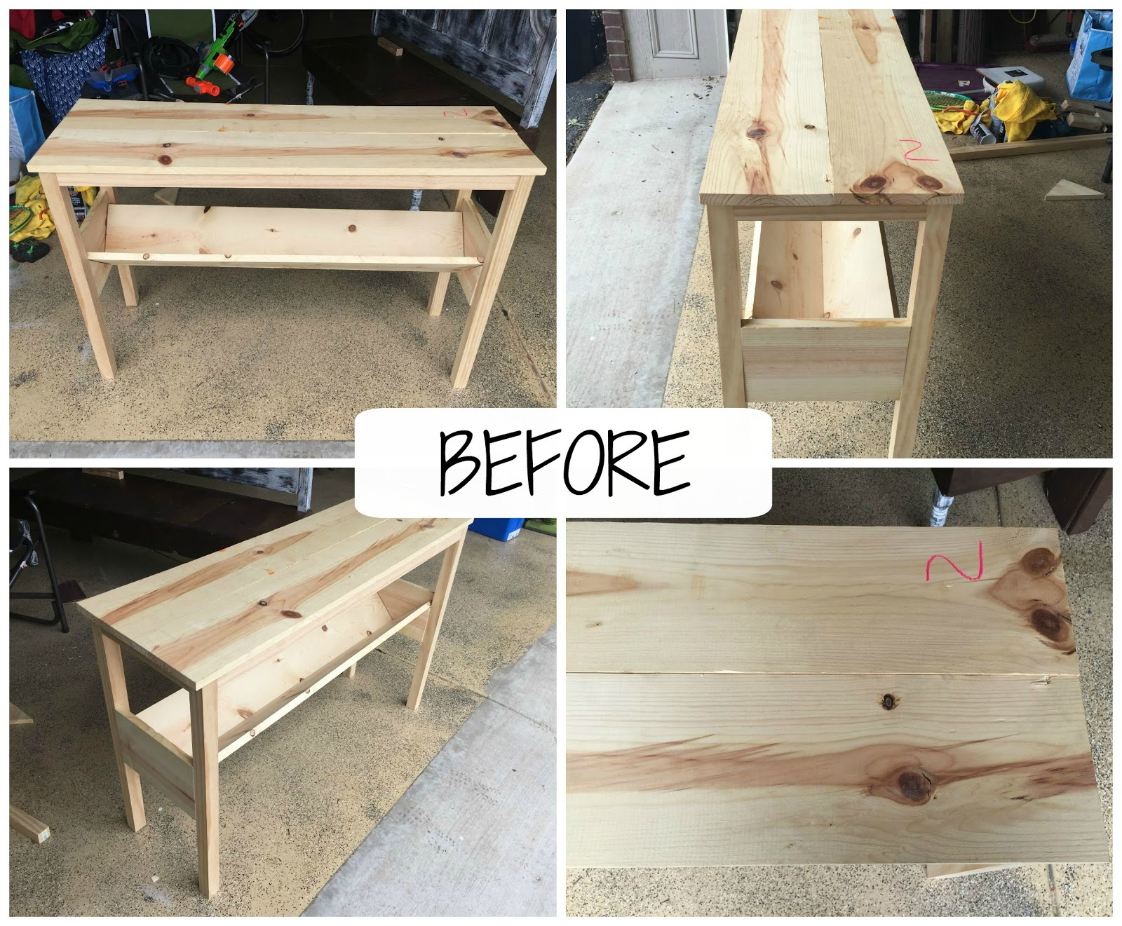 My Passion For Decor DIY Sofa Table