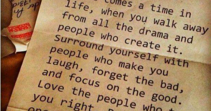 People And Life Comes Walk I Who Away When Drama All You Create There Time