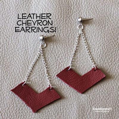 http://www.doodlecraftblog.com/2015/01/leather-chevron-dangle-earrings.html