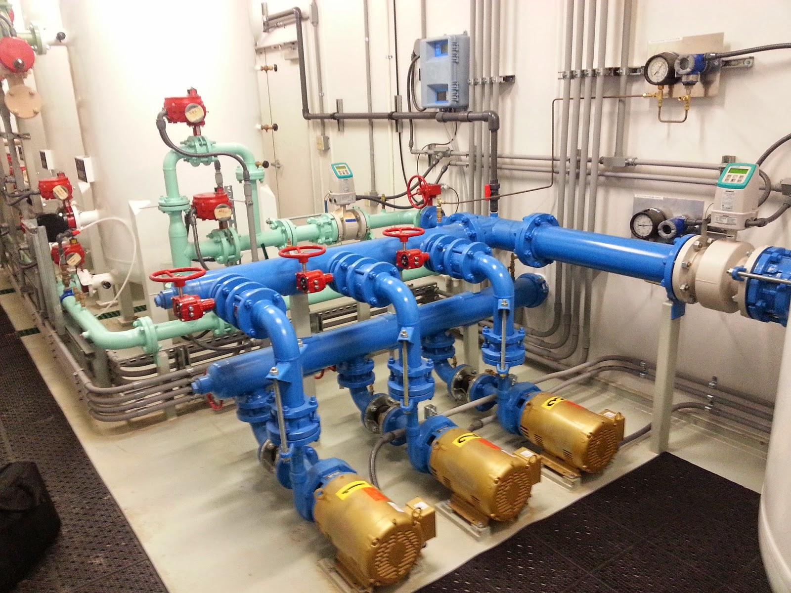 Delivered Water Treatment System