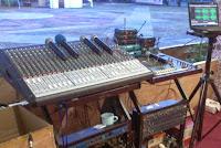 Master Control Audio Mixer FOH