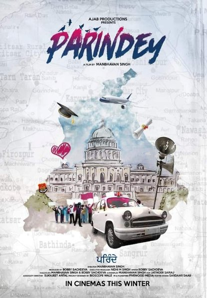 Parindey next upcoming punjabi movie first look movie Yuvraj and Mansi Poster of download first look, release date