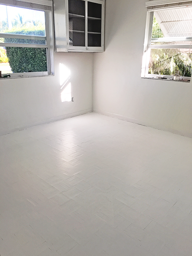 White Floor Paint