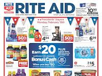 Rite Aid Weekly Circular Ad February 17 - February 23, 2019