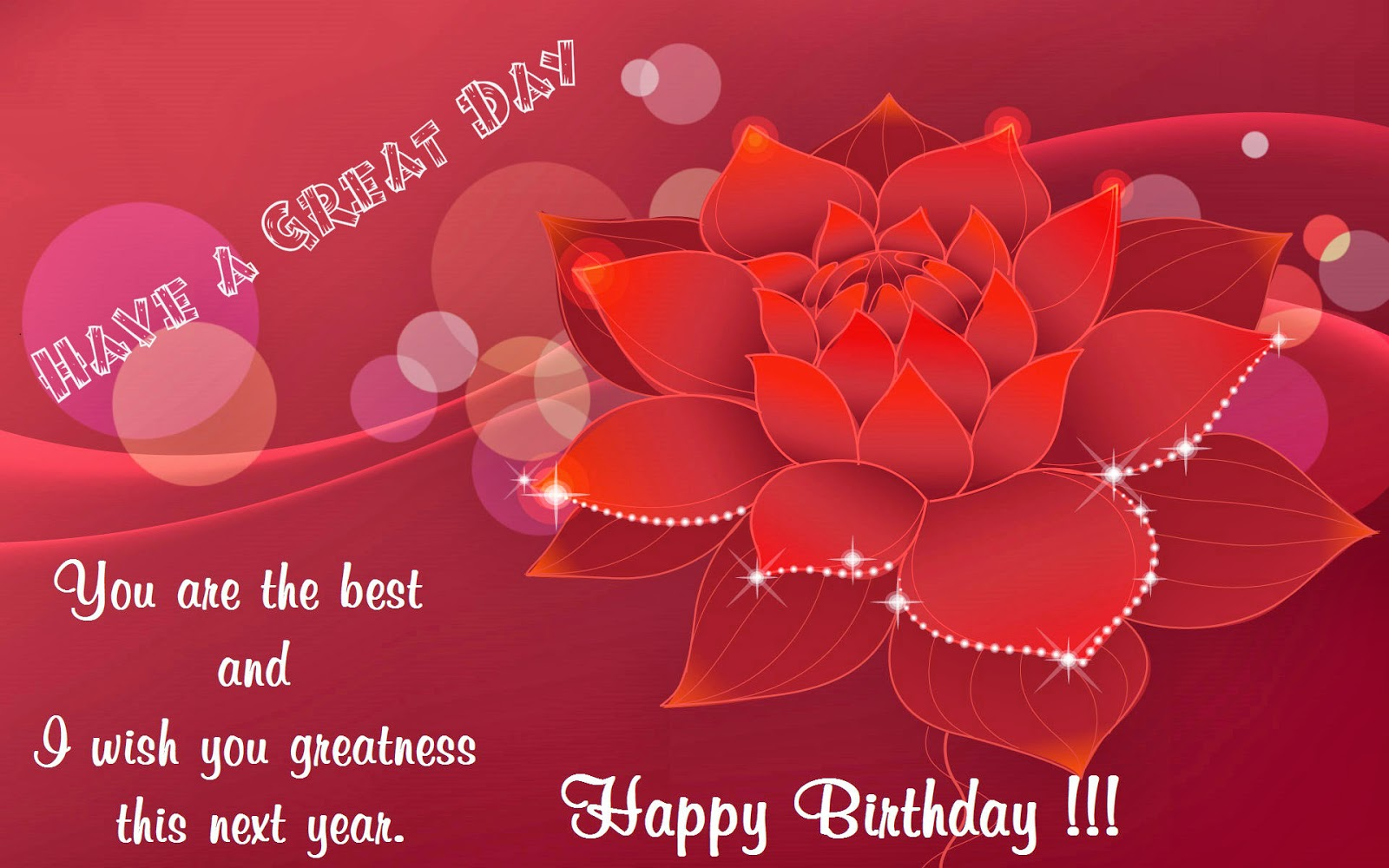 Animated birthday messages cards photo 39 s for friends - Happy birthday card wallpaper ...