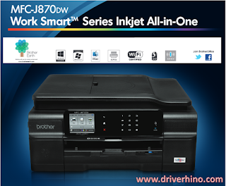 Brother MFC J870DW Printer Specification