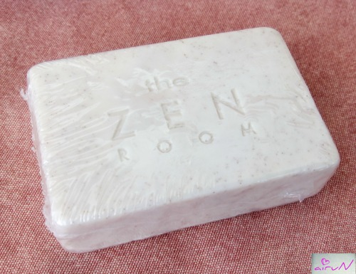 jabón exfoliante coco radhe