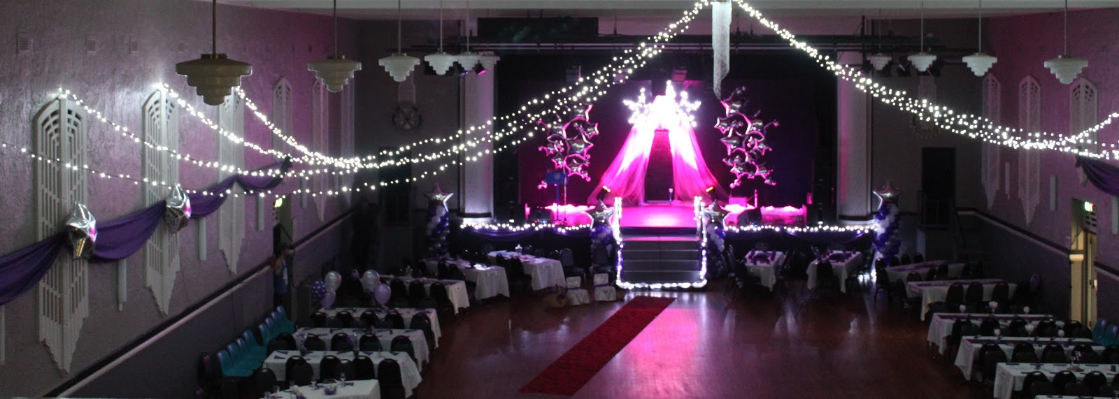 Enchanted Events And Balloons Rotary Debutante Ball