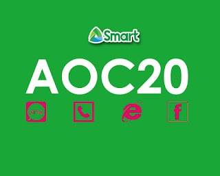 Smart AOC20 – All Out Combo, Unli All-net, Call, FB Access and Data