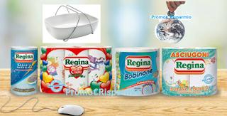 Logo Concorso Regina ''La Dolce sfida'': vinci gratis buoni acquisto e non solo
