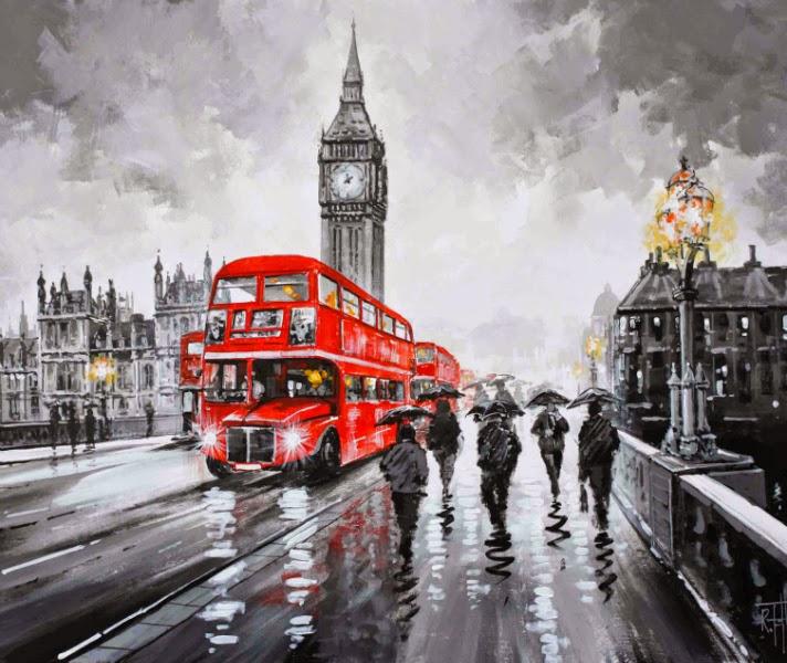 Richard Telford London Bus Artwork