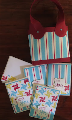 Gift bags for raffle Zena Kennedy independent stampin up demonstrator