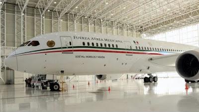 Justifican pago de 450 mdp por avión presidencial