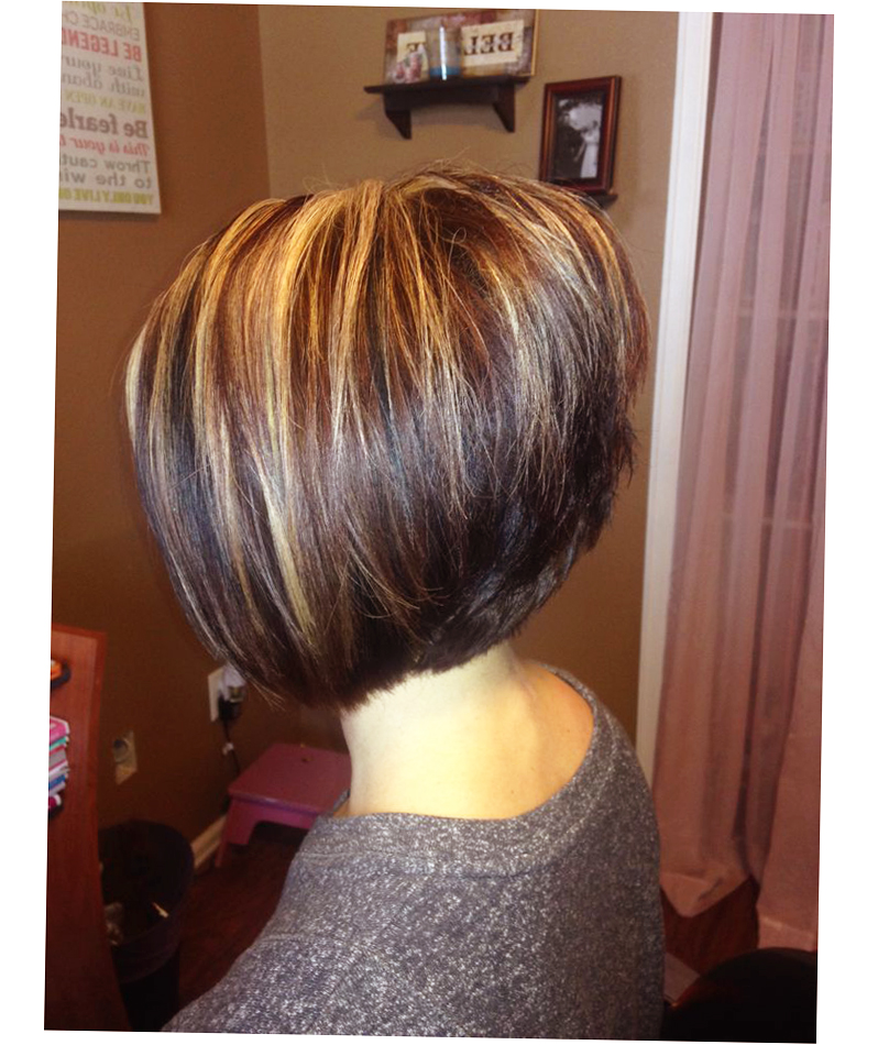 A Line Bob With Side Bangs Picture Image