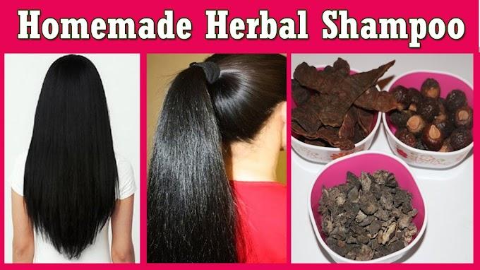 बालों के लिए वरदान घर पर बना हर्बल शैम्पू, Homemade herbal shampu
