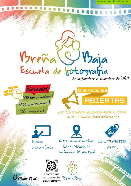 BREÑA BAJA: Escuela de Fotografía de Breña Baja