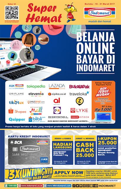 Promo Indomaret Super Hemat Periode 16-31 Maret 2017