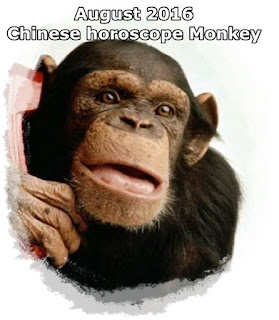 August 2016 Chinese horoscope Monkey love money health