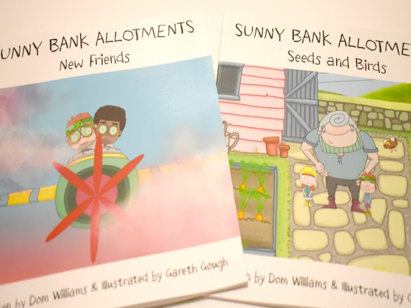 Sunny Bank Allotments Children's Books GIVEAWAY