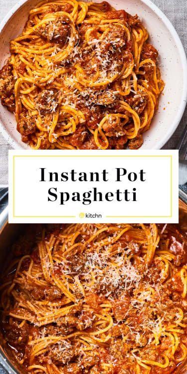 Best Instant Pot Spaghetti