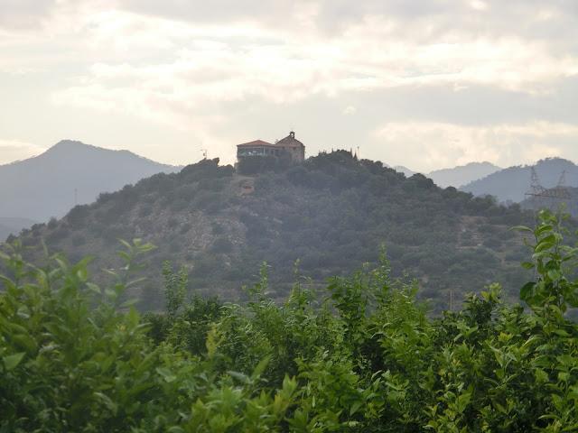 La Muntanyeta de Sant Antoni cercana a Betxí en bicicleta