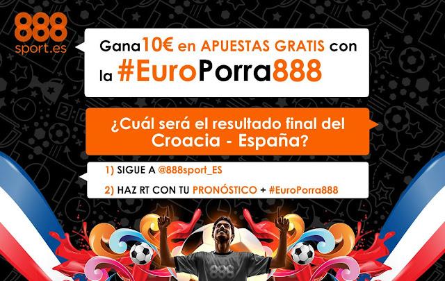 888sport europorra888 twitter Croacia vs España 21 junio