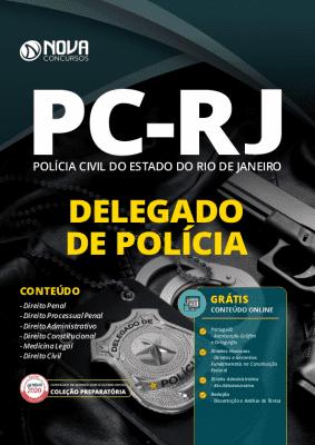 Apostila Concurso PC RJ 2020 PDF Delegado de Polícia Download PDF Grátis Curso Online