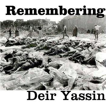 Resultado de imagen de masacre de Deir Yassin,
