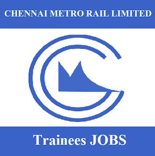 Chennai Metro Rail Limited, CMRL, TN, Tamil Nadu, Metro Rail, Trainee, Graduation, freejobalert, Sarkari Naukri, Latest Jobs, cmrl logo