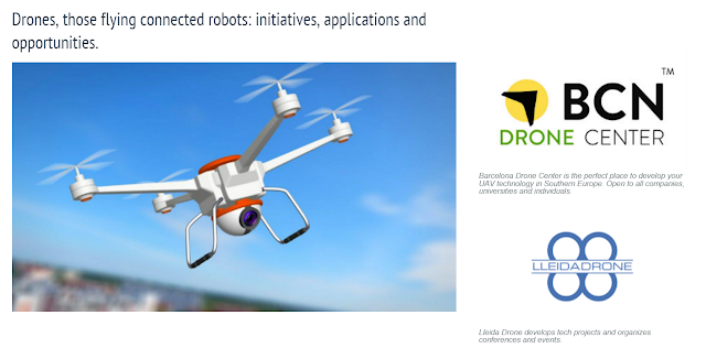 The Government of Catalonia mentions @LleidaDrone in the Trade & Investment website @tic