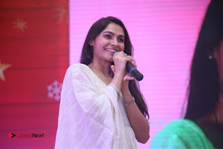 Tamil Actress Singer Andrea Stills in White Salwar Kameez at Narayana Group of Schools Carnival Inauguration  0016.jpg