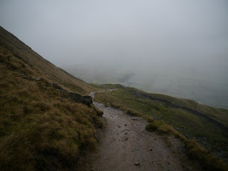 2012 got off to a wet start on Pendle Hill