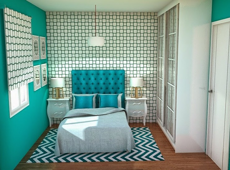 Arantxa amor decoraci n una peque a y preciosa - Colores para pintar una habitacion pequena ...