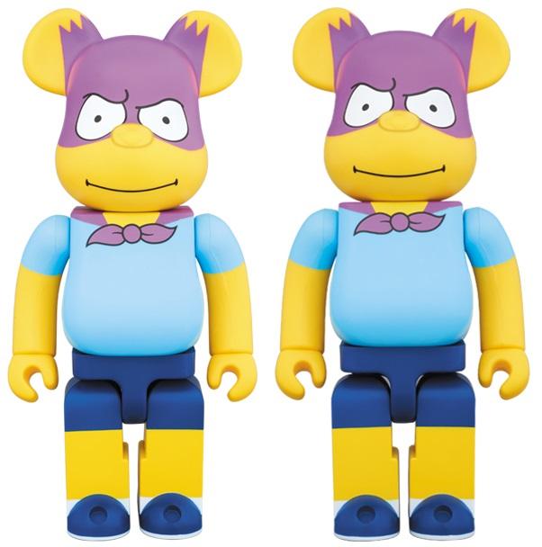 The Blot Says...  The Simpsons Bartman 100% 016345abb