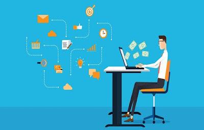 Mencoba bisnis blogging