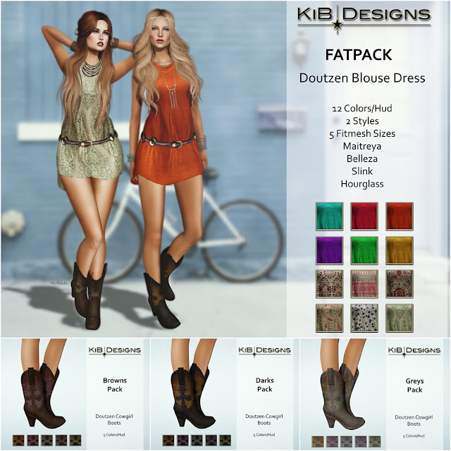 KiB Designs - Doutzen and Nayra in The Boho Culture Fair