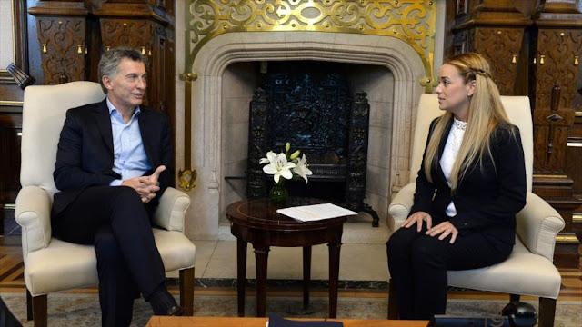 Macri pide reponer democracia en Caracas, olvidándose de Brasil