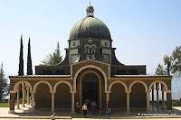 Israel Travel Guide - Christian Holy Places: Mount of Beatitudes, Church of the Sermon on the Mount