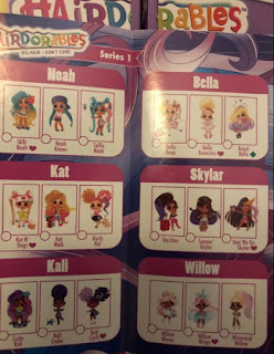 Версии кукол Hairdorables