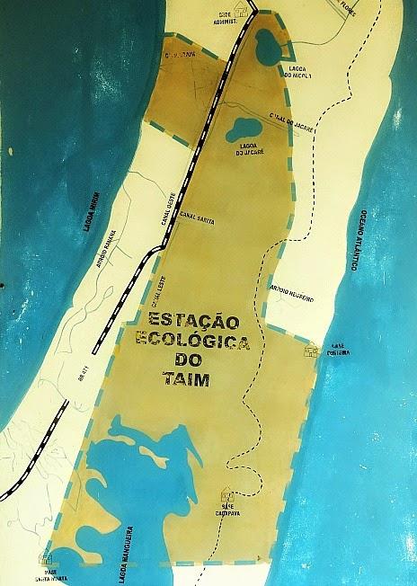 Estação Ecológica do Taim, Santa Vitória do Palmar